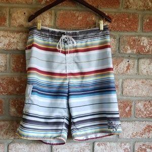 Billabong striped board shorts